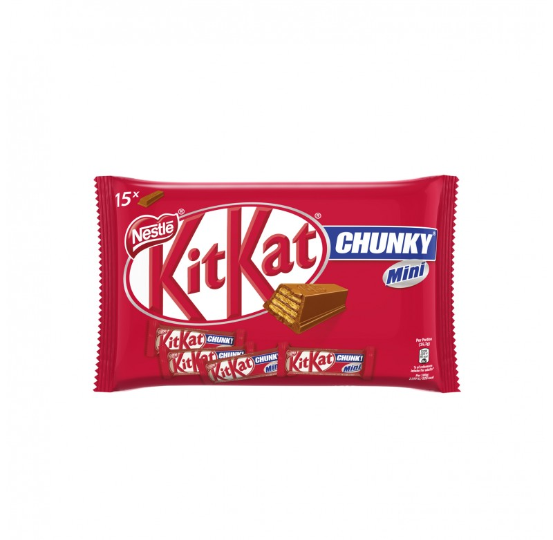 KitKat - Chunky Mini Pillow Bag 250g