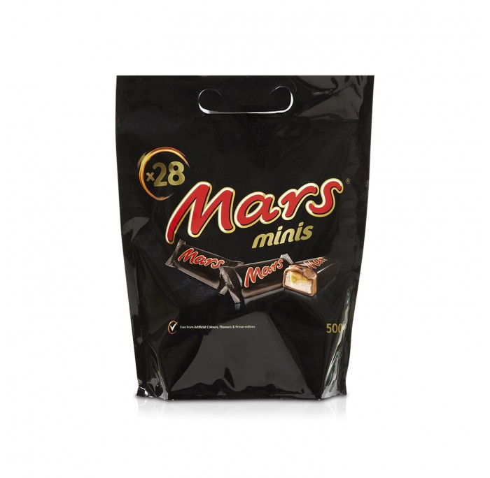 Mars Minis Handle Pouch 500g